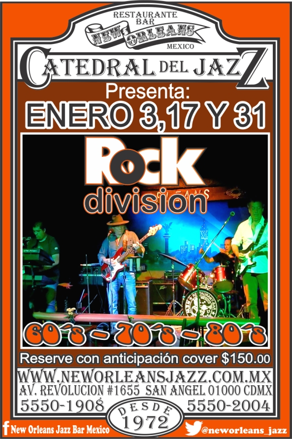 03,17 Y 31 ENERO ROCK DIVISION 2020
